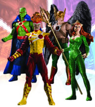 Image: Brightest Day Series 2 Action Figure Set  (4) - DC Direct