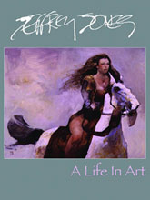 Image: Jeffrey Jones: A Life in Art HC  - IDW Publishing