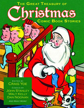 Image: Great Treasury of Christmas Comic Book Stories HC  - IDW Publishing