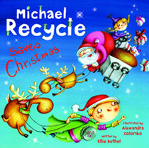 Image: Michael Recycle Saves Christmas  - IDW Publishing