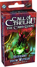 Image: Call Cthulhu: The Card Game Asylum Pack - Screams From Within  - Fantasy Flight Publishing Inc