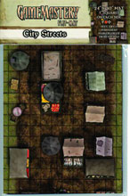 Image: Gamemastery: Flipmat City Streets  - Paizo Publishing LLC