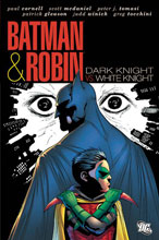 Image: Batman and Robin: Dark Knight vs. White Knight HC  - DC Comics