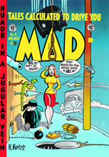Image: Mad Archives Vol. 03: Issues 13-18 HC  - DC Comics