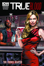 Image: True Blood: French Quarter #4 (20-copy incentive black & white cover) (v20)