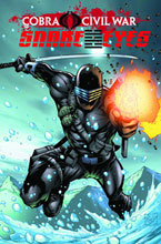 Image: G.I. Joe: Snake Eyes, Vol. 01: Cobra Civil War SC  - IDW Publishing