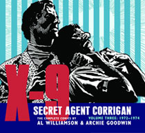 Image: X-9: Secret Agent Corrigan Vol. 03: 1972-1974 HC  - IDW Publishing