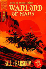 Image: Warlord of Mars: Fall of Barsoom #5 (20-copy Francavilla incentive cover) - D. E./Dynamite Entertainment
