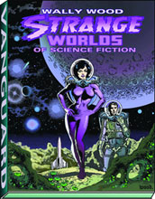 Image: Wally Wood: Strange Worlds of Science Fiction SC  - Vanguard Productions
