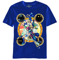 Image: Kingdom Hearts: Stacked Against PX T-Shirt [navy]  (S) -