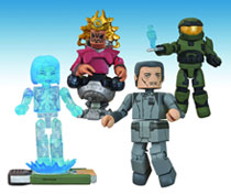 Image: Halo Series 4 Minimates Set  -