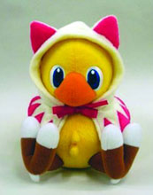 Image: FF Series Plush: Chocobo  (White Mage) -