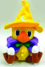 Image: FF Series Plush: Chocobo  (Black Mage) -