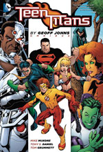 Image: Teen Titans Omnibus by Geoff Johns HC  - DC Comics