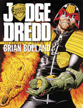 Image: Judge Dredd: Complete Brian Bolland HC  - IDW Publishing