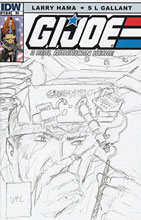 Image: G.I. Joe: A Real American Hero #184 (10-copy incentive cover) (v10)