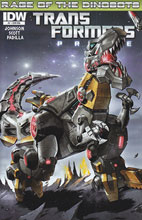 Image: Transformers: Prime Rage of the Dinobots #1 (10-copy incentive cover) (v10)