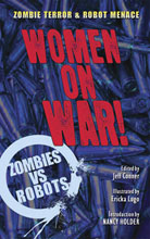 Image: Zombies vs. Robots: Women on War! Prose SC  - IDW Publishing