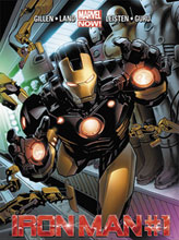 Image: Iron Man #1 (2nd printing variant)