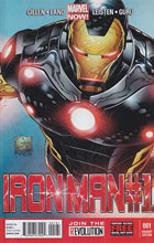 Image: Iron Man #1 (Quesada variant cover) (v100)