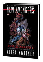 Image: New Avengers: Breakout Prose Novel HC  - Marvel Comics