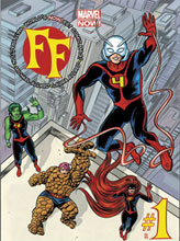 Image: FF by Mike Allred Poster  - Marvel Comics