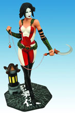 Image: Femme Fatales Kabuki PVC Statue  - Comic Book Heroes Statues & Models