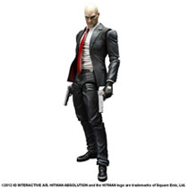 Image: Hitman Absolution Play Arts Kai Action Figure: Agent 47  - Video Games Import Toys & Models