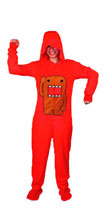 Image: Domo Hooded 1-Piece Pajamas  (L) - Domo