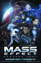 Image: Mass Effect: Paragon Lost Blu-Ray+DVD  - Anime Dvds & Digital Media