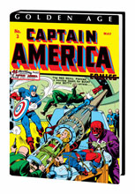 Image: Golden Age Captain America Omnibus Vol. 01 HC  (Simon & Kirby cover) - Marvel Comics