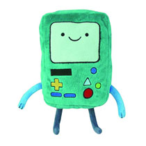 Image: Adventure Time Deluxe Plush: Beemo  (8-inch) -