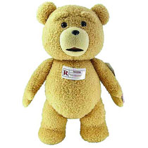 Image: Seth MacFarlane Ted 24-inch Plush w/Sound R-Rated  -