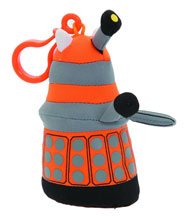 Image: Doctor Who Dalek Mini-Talking Plush: Orange  -
