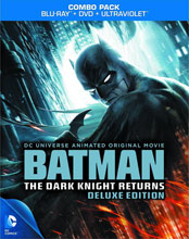 Image: DCU Batman: The Dark Knight Returns Deluxe Edition BluRay+DVD  -