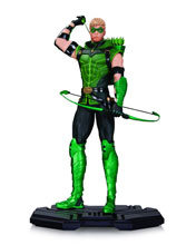 Image: DC Comics Icons Statue: Green Arrow  - DC Comics