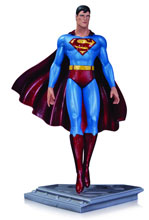 Image: Superman the Man of Steel Statue by Moebius  - DC Comics