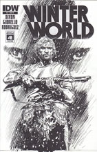 Image: Winterworld #5 (variant incentive cover - Butch Guice Artist Edition) (10-copy) - IDW Publishing