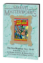 Image: Marvel Masterworks Vol. 215: Sub Mariner Nos. 39-49 & Daredevil No. 77 HC  - Marvel Comics