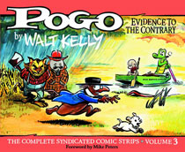Image: Pogo: The Complete Syndicated Comic Strips Vol. 03, 1953-1954 HC  - Fantagraphics Books