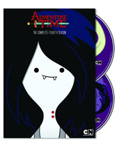 Image: Adventure Time Complete Fourth Season DVD  -