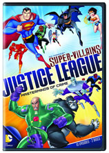 Image: DC Super-Villians: Justice League - Masterminds of Crime DVD  -