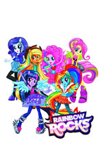 Image: My Little Pony Equestria Girls: Rainbow Rocks Blu-Ray+DVD  -