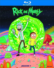 Image: Rick and Morty Season 01 Blu-ray  -