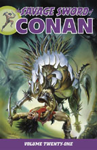 Image: Savage Sword of Conan Vol. 21 SC  - Dark Horse Comics