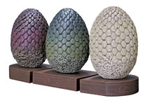 Image: Game of Thrones Bookends: Dragon Egg  - Dark Horse Comics