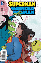 Image: Superman / Wonder Woman #23 (DCU Looney Tunes variant cover) - DC Comics