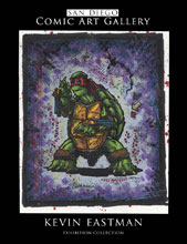 Image: San Diego Comic Art Gallery: Kevin Eastman Catalog SC  - IDW Publishing