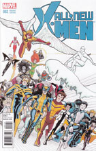 Image: All-New X-Men #2 (Janet Lee variant cover) - Marvel Comics