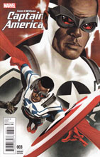 Image: Captain America: Sam Wilson #3 (variant cover - Epting) - Marvel Comics